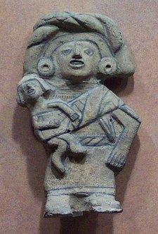 Replica of Mayan Idols/