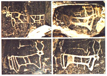 Golden calf inscriptions?