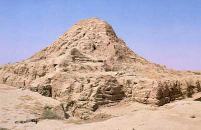 Ziggurat at Ashur